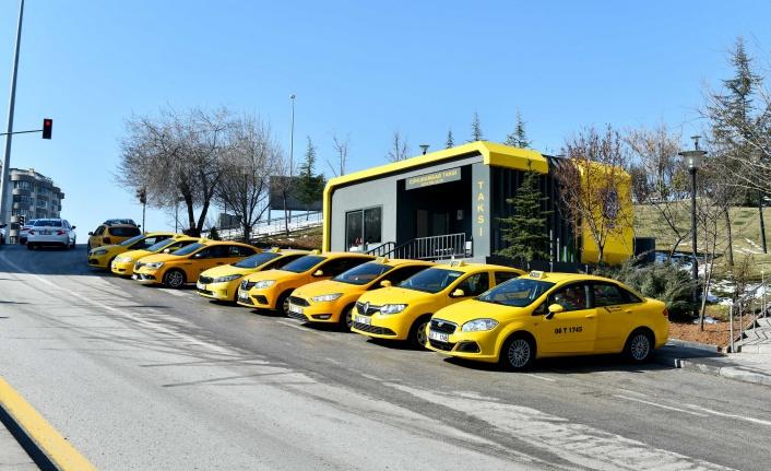 Ankara'da Yeni Nesil Taksi Durakları!