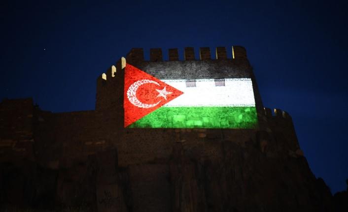 Ankara Kalesi'nden Filistin Direnişine Selam