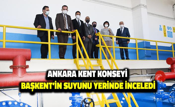 Ankara Kent Konseyi Başkent'in Suyunu Yerinde İnceledi