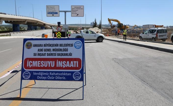 Ankara'ya 800 Metrelik Yeni İçme Suyu Hattı Yapılıyor!