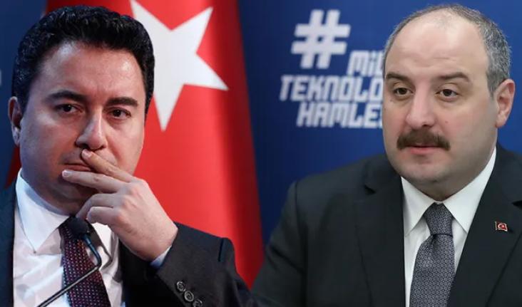 Bakan Varank Ali Babacan'ı Tuş Etti: Terletecek Sözler