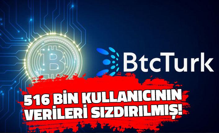BtcTurk Resmen Doğruladı:  516 Bin Kullanıcının Verileri Sızdırılmış!