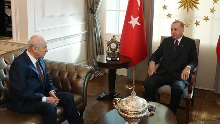 Cumhurbaşkanı Erdoğan ile Devlet Bahçeli Görüşmesinde Ne Konuşuldu?