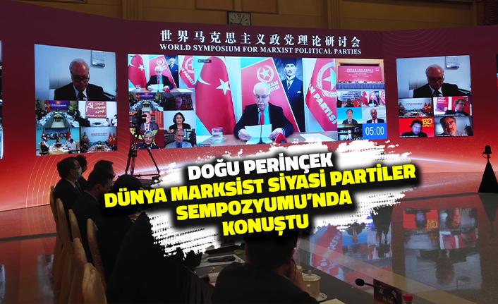 Doğu Perinçek Dünya Marksist Siyasi Partiler Sempozyumu'nda Konuştu