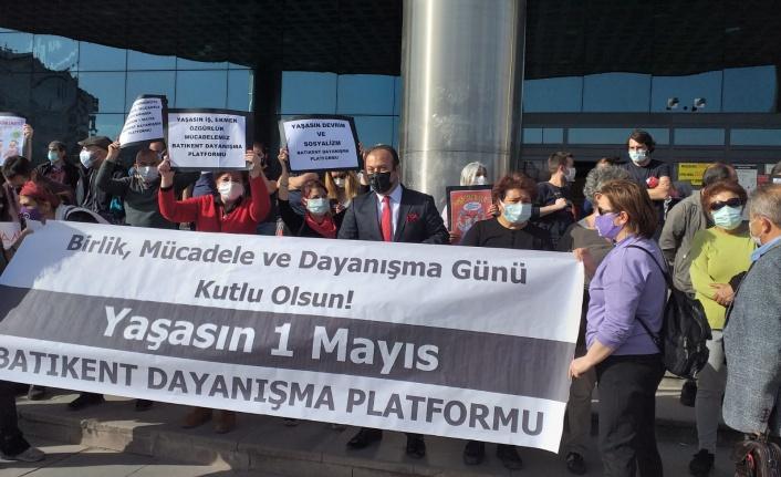 EYT'lilerin Umut Partisi'nden 1 Mayıs Mesajı