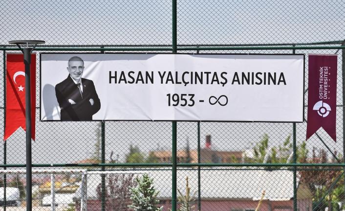 Hasan Yalçıntaş'ın Adı Ankara'da Yaşayacak