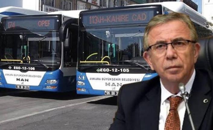 Mansur Yavaş'tan Yeni Otobüs Paylaşımı: '2013 Yılından Sonra İlk Defa'
