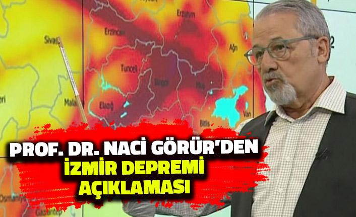 Naci Görür'den İzmir Depremi Açıklaması