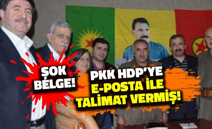 PKK HDP'ye E-posta ile Talimat Vermiş