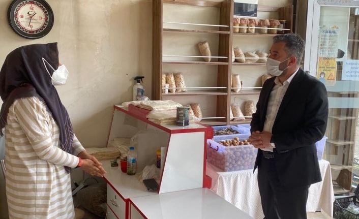 Pursaklar Belediye Başkanı İlçe Esnafını Ziyaret Etti