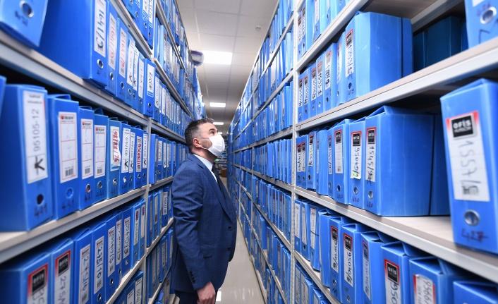 Pursaklar Belediyesi Arşiv Alanlarını Yeniledi