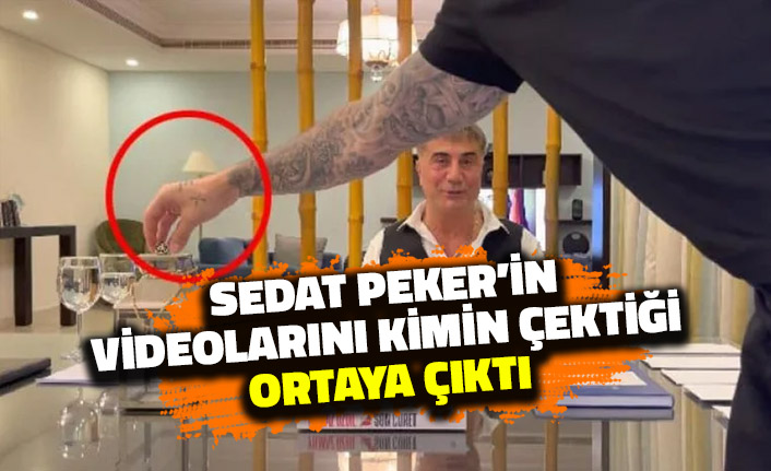 Sedat Peker'in Videolarını Kim Çekiyor? Ortaya Çıktı