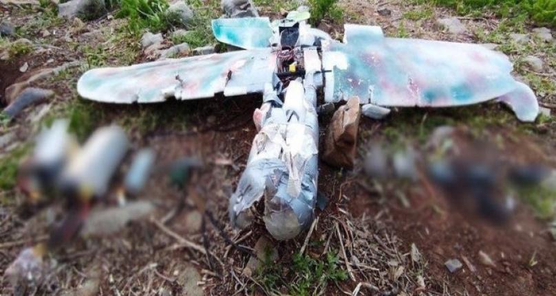 Teröristlerin Saldırı için Kullandığı Maket Uçak Düşürüldü