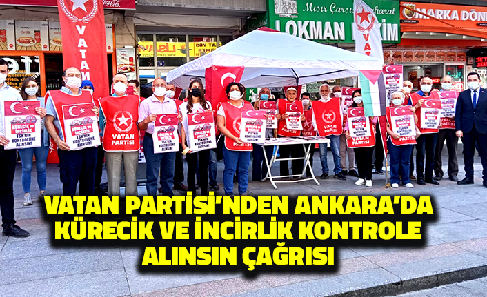 Vatan Partisi'nden Ankara'da Kürecik ve İncirlik Kontrole Alınsın Çağrısı