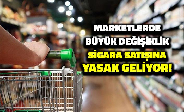 Zincir Marketlerde Büyük Değişiklik: Sigara Satışına Yasak Geliyor!