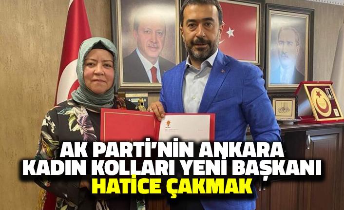 AK Parti'nin Ankara Kadın Kolları Yeni Başkanı Hatice Çakmak