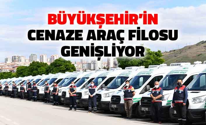 Ankara Büyükşehir Belediyesi'nin Cenaze Araç Filosu Genişliyor