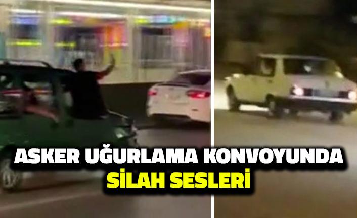 Ankara'da Asker Uğurlama Konvoyundaki Silah Sesleri