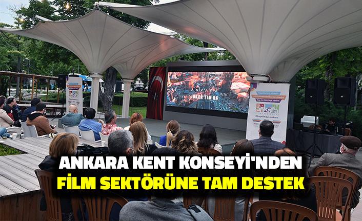 Ankara Kent Konseyi'nden Film Sektörüne Tam Destek