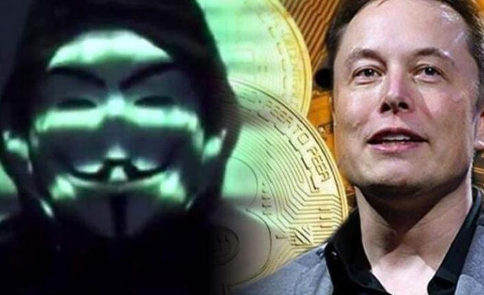 Anonymous'tan Elon Musk'a Tehdit