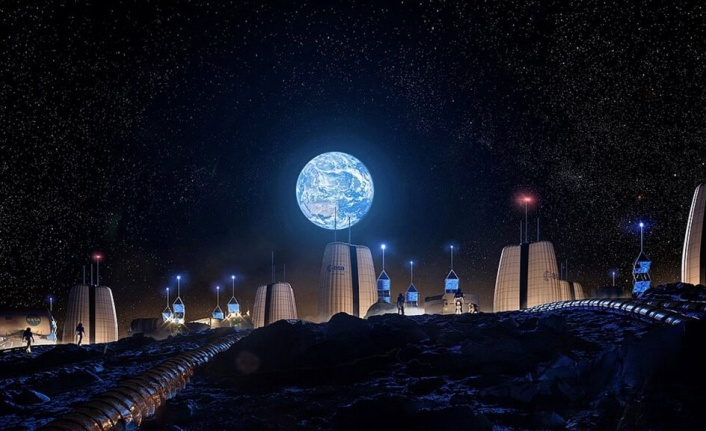 Avrupa Uzay Ajansı, Ay'daki İlk Kolonilerin Nasıl Görüneceğini Paylaştı