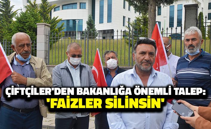 Çiftçiler'den Bakanlığa Önemli Talep: 'Faizler Silinsin'