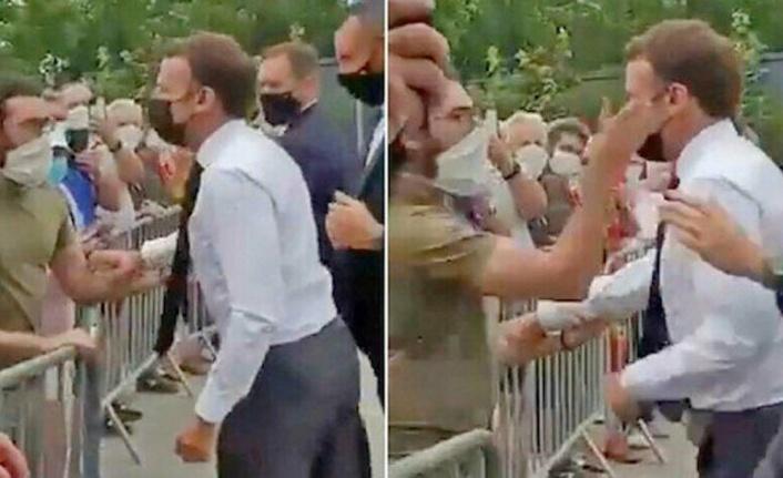 Macron'a Tokat Atan Kişiye Verilen Ceza Belli Oldu
