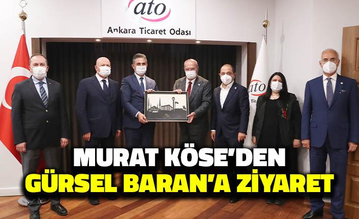 Murat Köse'den Gürsel Baran'a Ziyaret