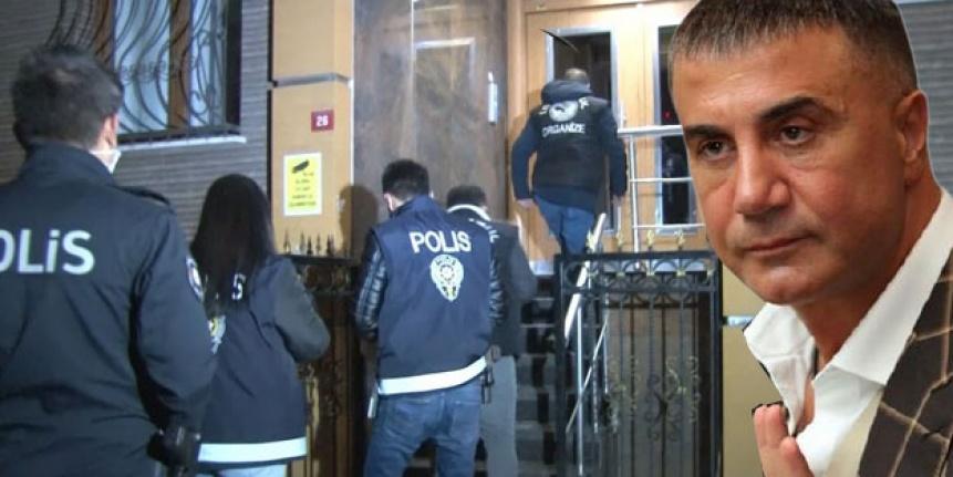 Sedat Peker ile Bağlantılı 4 Kişiye Gözaltı