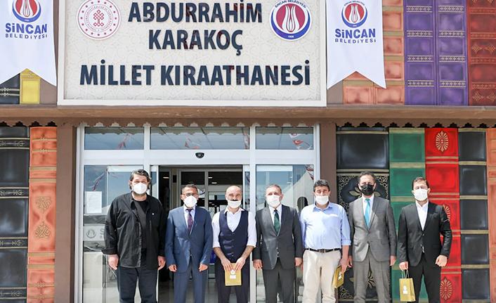 Sincan'da Abdurrahim Karakoç Şiir Yarışması'nda Dereceye Girenlere Ödül