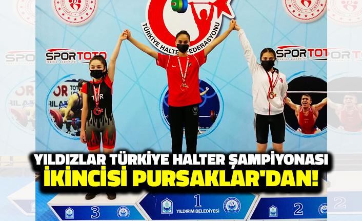 Yıldızlar Türkiye Halter Şampiyonası İkincisi Pursaklar'dan!