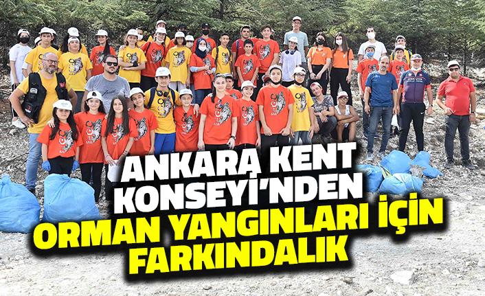 Ankara Kent Konseyi'nden Orman Yangınları için Farkındalık Etkinliği