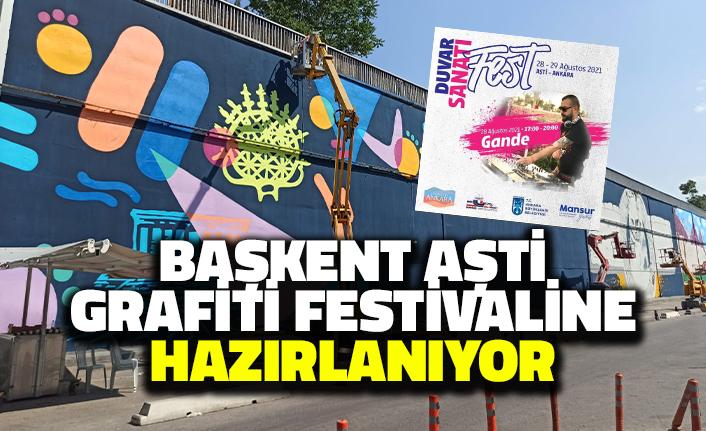 Başkent AŞTİ Grafiti Festivaline Hazırlanıyor