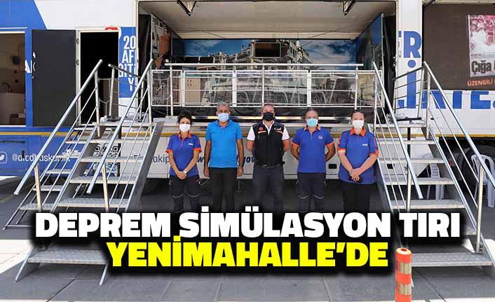 Deprem Simülasyon Tırı Yenimahalle'de