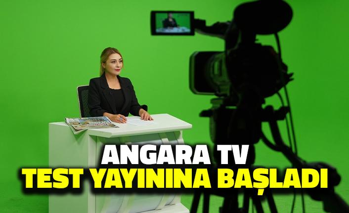 Angara TV Test Yayınına Başladı