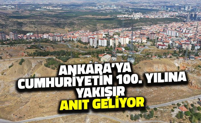 Ankara'ya Cumhuriyetin 100. Yılına Yakışır Anıt Geliyor