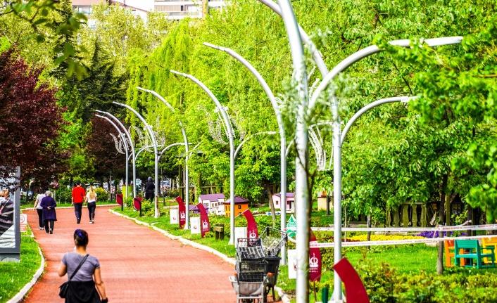 Keçiören'e 62 Yeni Park İnşa Edildi