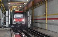 Ankara'da Tren Yıkama Hattı Yenilendi