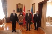 Vatan Partisi'nden Azerbaycan Büyükelçisine Destek Ziyareti