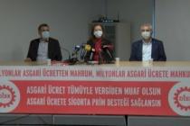 DİSK Asgari Ücret Talebini Açıkladı