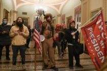 ABD'den Aksiyon Filmlerini Aratmayan Gece: İşte O Kareler