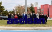 AK Partili Gençlerden ASELSAN'a Ziyaret
