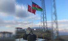 Nahçıvan Sınırına Türkiye ve Azerbaycan Bayrakları Asıldı