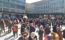 Atanamayan Öğretmenlerden Ankara'da Büyük Eylem