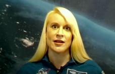NASA Astronotu Uzaydan Oy Kullandı