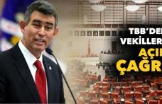 TBB'den Milletvekillerine Açık Çağrı
