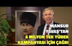 Mansur Yavaş'tan 6 Milyon Tek Yürek Kampanyası için Çağrı - VİDEO