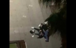 Samsun'da Sokak Ortasında Çocuğunun Gözü Önünde Kadına Şiddet!