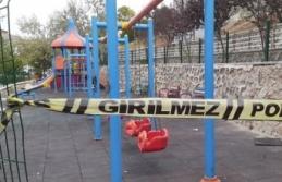 Ankara'da Çocuk Parkında Eşini Silahla Vurdu!