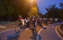 Ankara Harekete Geçti: 2500 Metrelik Parkurda Pedal Çevirdiler
